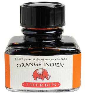 Encre J.Herbin Orange indien 130_57